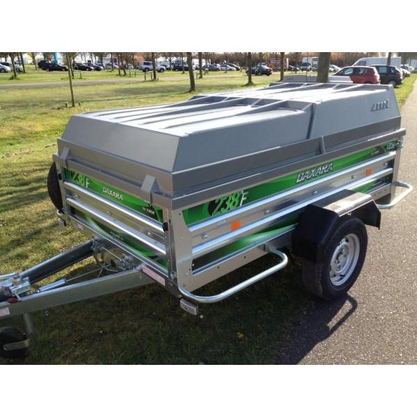 Bagagewagen met deksel