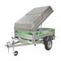 Daxara bagagewagen XF 198 geremd met deksel