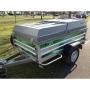 Daxara bagagewagen XF 238 geremd met deksel