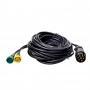 Kabelset 9M met stekker 7-polig en 2x connector 5-polig